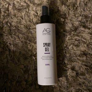 At hair care spray gel. Curl 8 of oz. full bottle